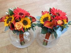 Bridesmaids Sunflower Mix
